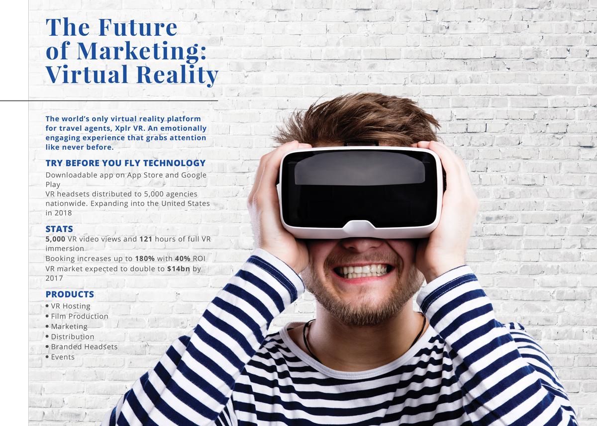 advertising travel with virtual reality