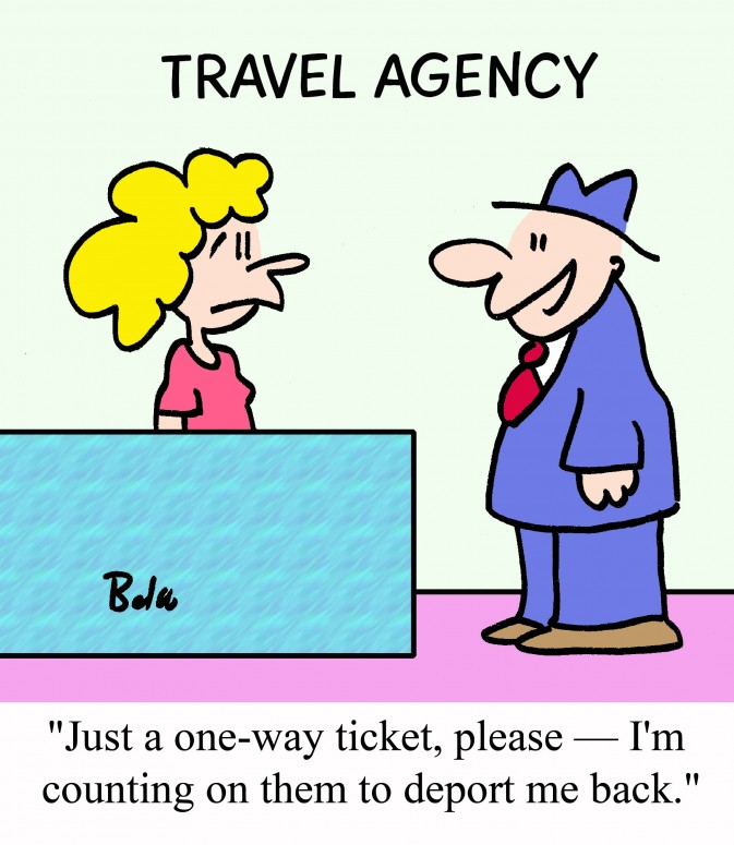 Travel Agent Joke