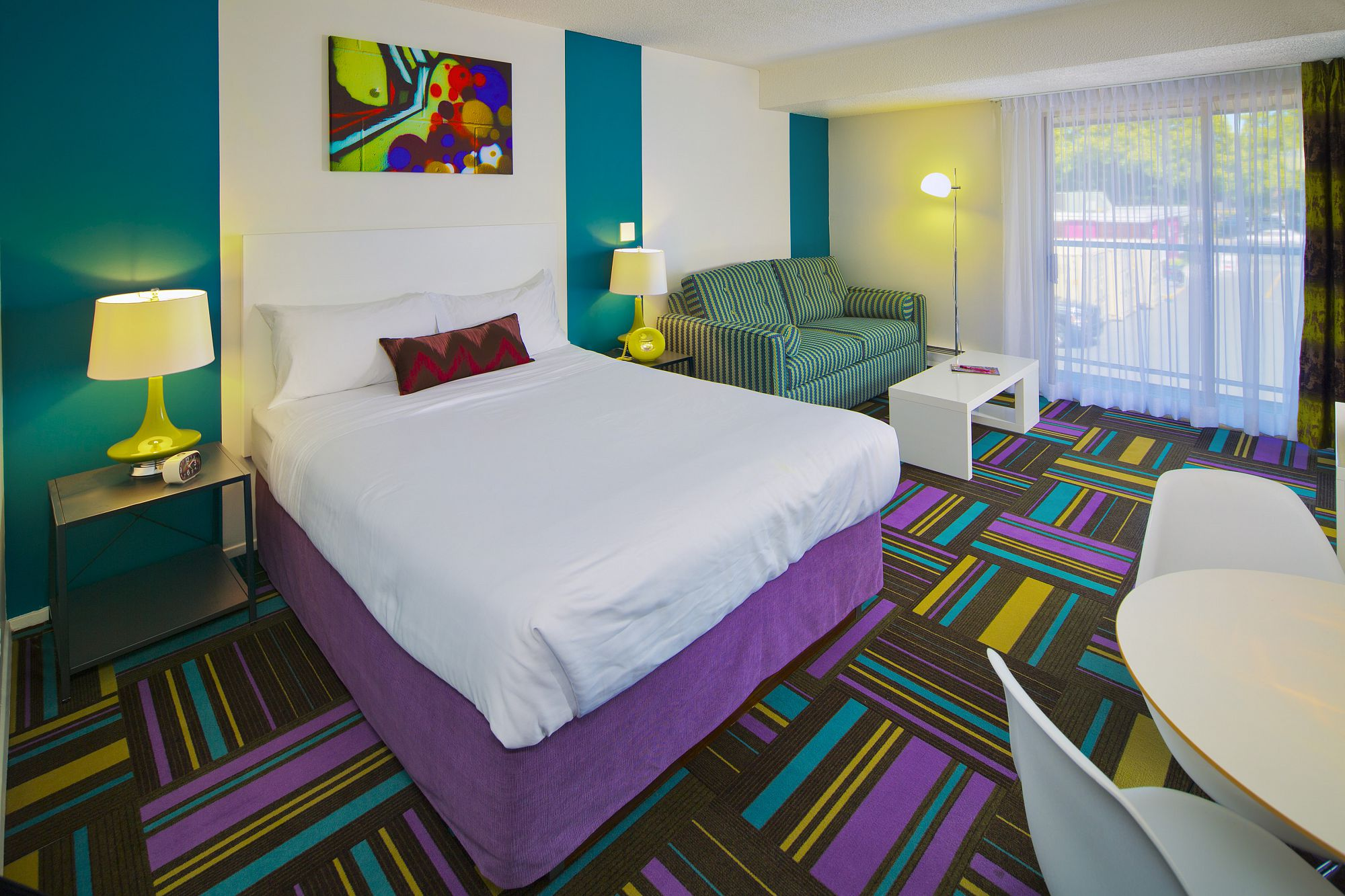 Hotel Zed Is An Edgy Eclectic Modern And Retro