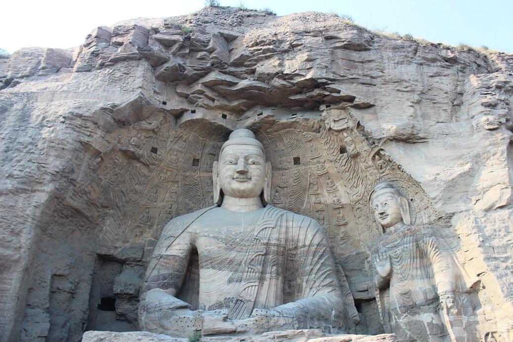 17 meter Buddha at the Yungang Grottoes