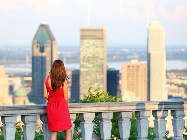 Mount Royal Park, Montreal.
