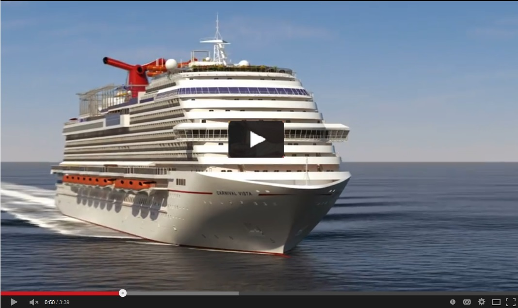 Carnival To Launch New Ship Vista The Cruise Lineu0026#39;s Largest (watch Video) - Travelweek