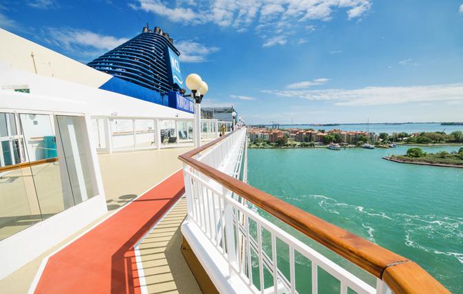 Encore Norwegian Cruise Line Launch Travel Agent Incentive