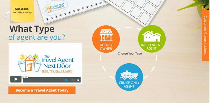 New look, testimonials on revamped The Travel Agent Next Door site