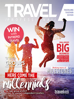 Travel Professional Travelling Together 2015
