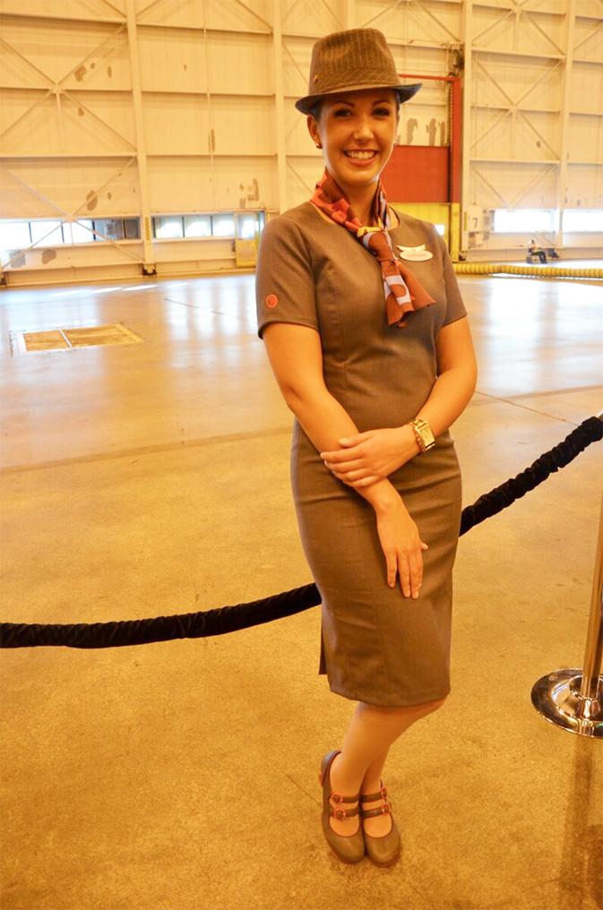 Nathalie, Air Canada rouge flight attendant