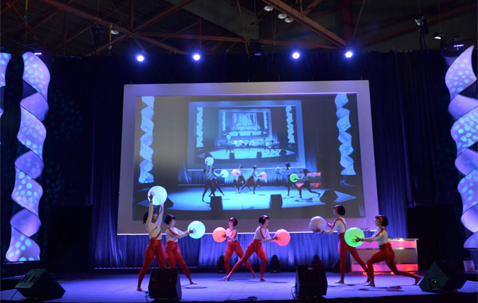 Creativiva, performers at the event