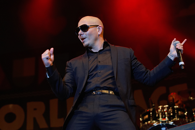 Pitbull was recently named Norwegian Escape's godfather.