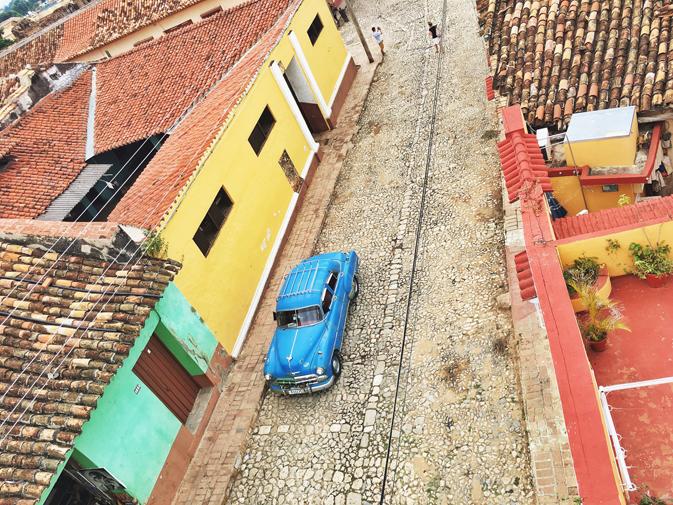 Colourful laneways of Trinidad