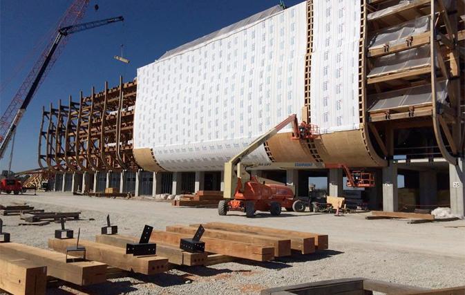 Get onboard noah s ark attraction in kentucky well underway for Noah s ark kentucky location