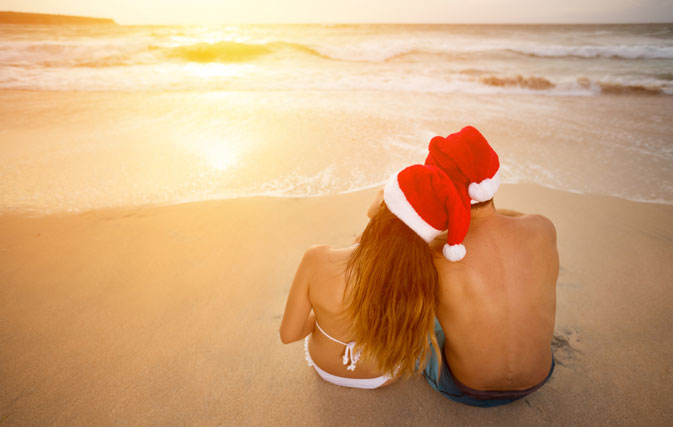 clients can spend christmas on the beach and save with sunwing vacations
