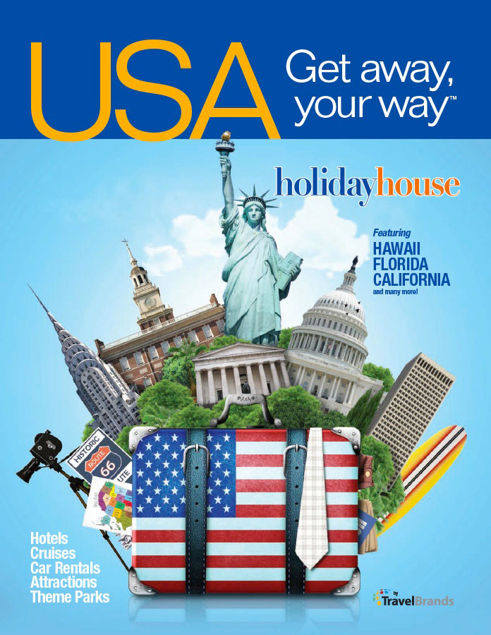 New Usa Brochure From Holiday House Offers Same Day