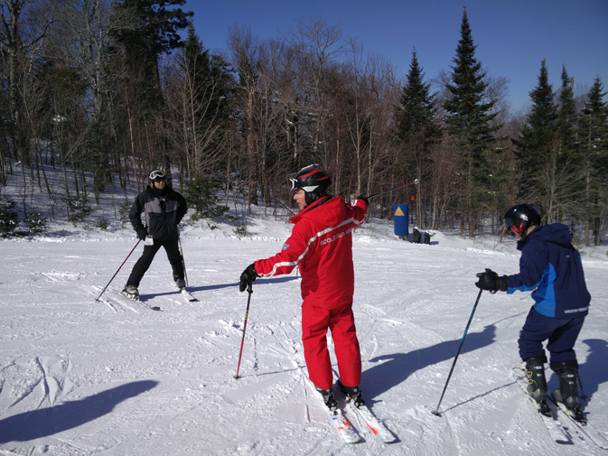 What to expect when learning to ski in Mont Tremblant