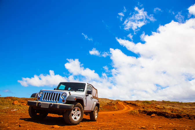 Four-Wheel Drive on Lanai