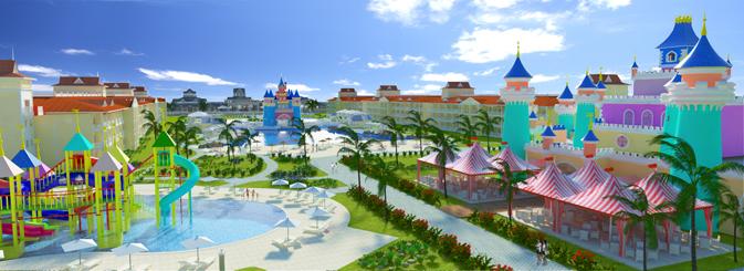Luxury bahia principe fantasia set to debut in punta cana for Hotel luxury bahia principe fantasia