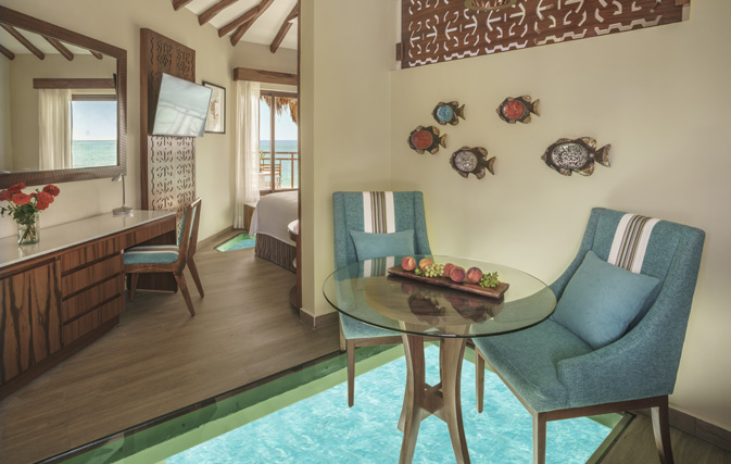 Mexico's first overwater bungalows get their first guests