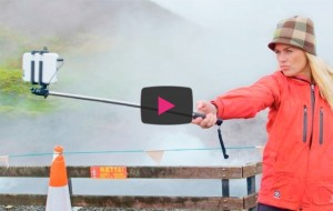 [VIDEO] Don't fall into the volcano: Iceland teaches safe selfies