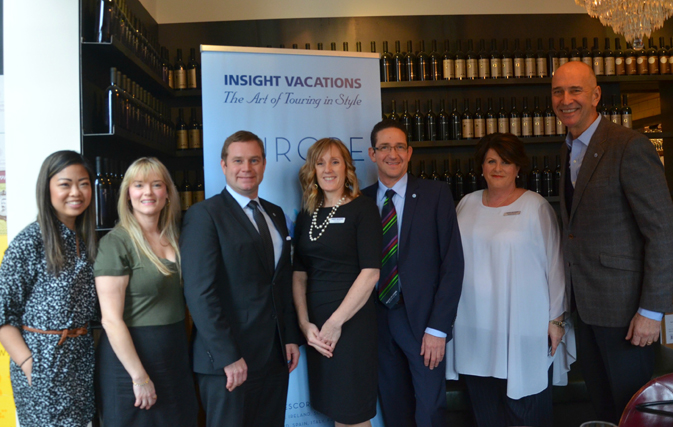 The Insight Vacations team