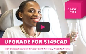 Upgrade your flight for only $149 – Travel Tips