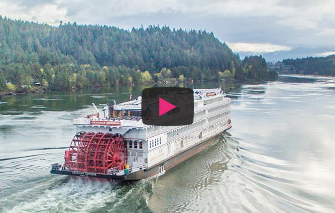a unique american river cruise experience travel videos