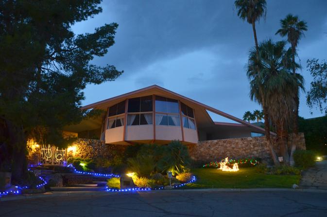 Elvis's Palm Springs House of Tomorrow