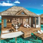 Books open on 9 new Over the Water Bungalows at Sandals Grande St. Lucian