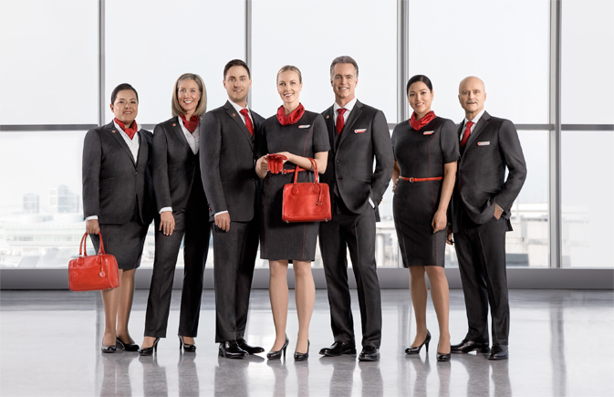 In-Flight and Airport agents uniforms