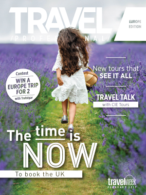 Travel Professional Europe February 2017 Cover
