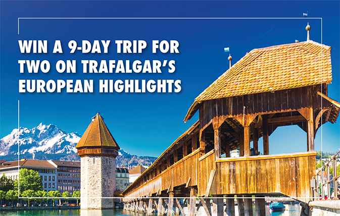 CLOSED: Win a 9-day trip for two on Trafalgar's European ...