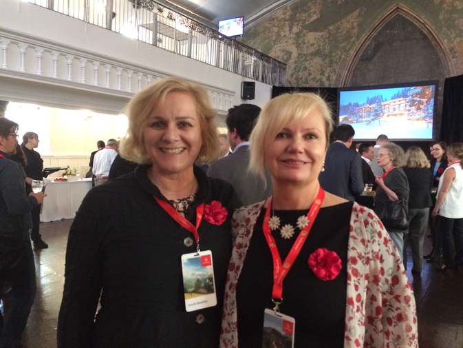 Ursula Beamish and Evelyn Lafone, Switzerland Tourism