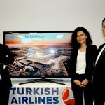 From l-r: Abdullah Nergiz, Airline and Cargo Marketing Director, Istanbul New Airport; Derya Serbetci Acar, Director for Cultural and Tourism Affairs at the Turkish Consulate, Toronto; Zafer Bolukbasi, General Manager, Toronto, Turkish Airlines