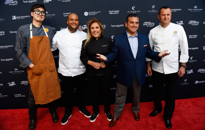 Chefs from Venetian