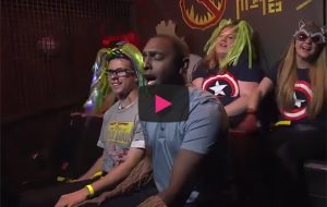 Watch this reporter hilariously freak out on new Guardians of the Galaxy ride