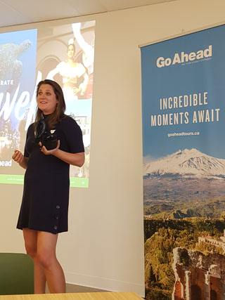 travel agents key to go ahead tours growth strategy for canadian