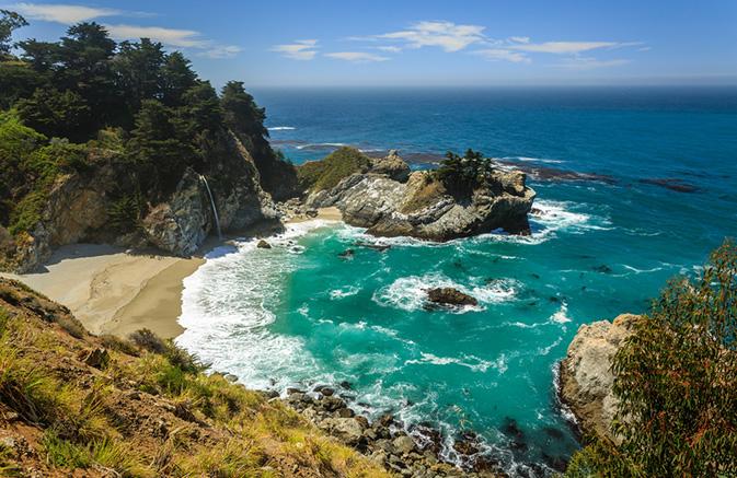 California S Hwy 1 Stretch Between Carmel Heart Of Big Sur Open Travelweek