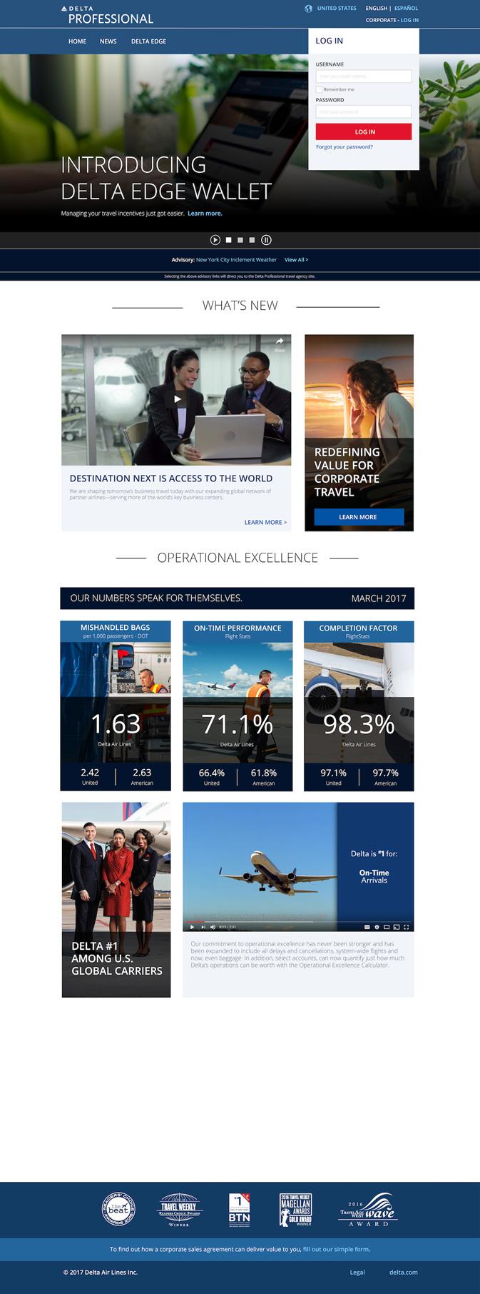 Incentive tool Delta Edge Wallet now live at Delta Professional agent portal