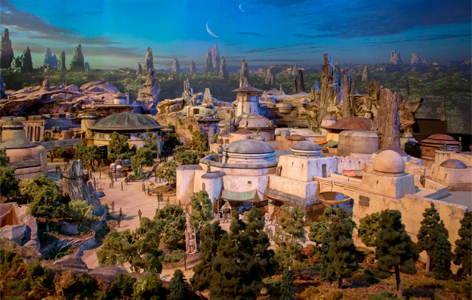 Here's your first look at Disney's incredible Star Wars-themed lands