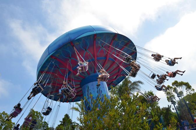SeaWorld San Diego's Tentacle Twirl