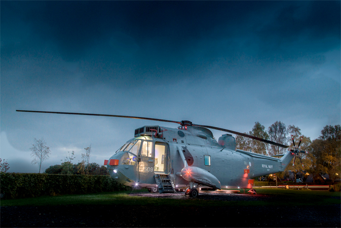 Stirling's Helicopter Glamping