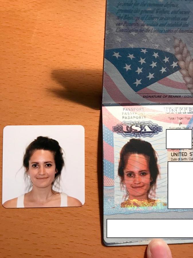 Bad passport photo