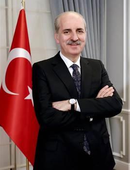 Dr. Numan Kurtulmus, Turkey's Minister of Culture and Tourism