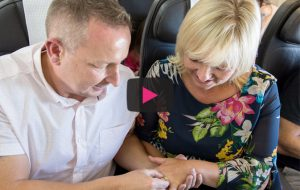Love Actually' in real life: Man proposes to girlfriend on BA flight