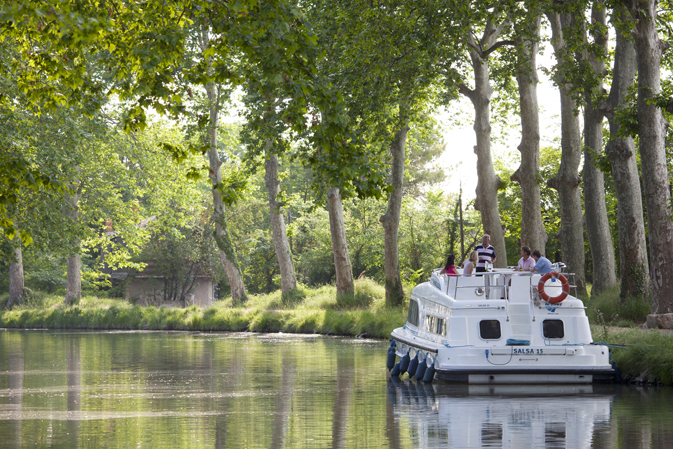 Le Boat on Canal du Midi
