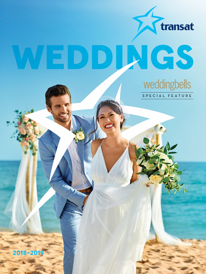 Transat S 2018 19 Weddings Brochure Is Now Available