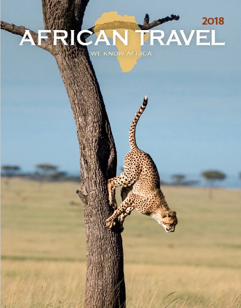 New 2018 African Travel brochure includes Kenya, Zanzibar