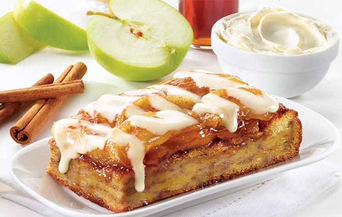 Now available from Sunwing Café: Cinnamon Apple Bake