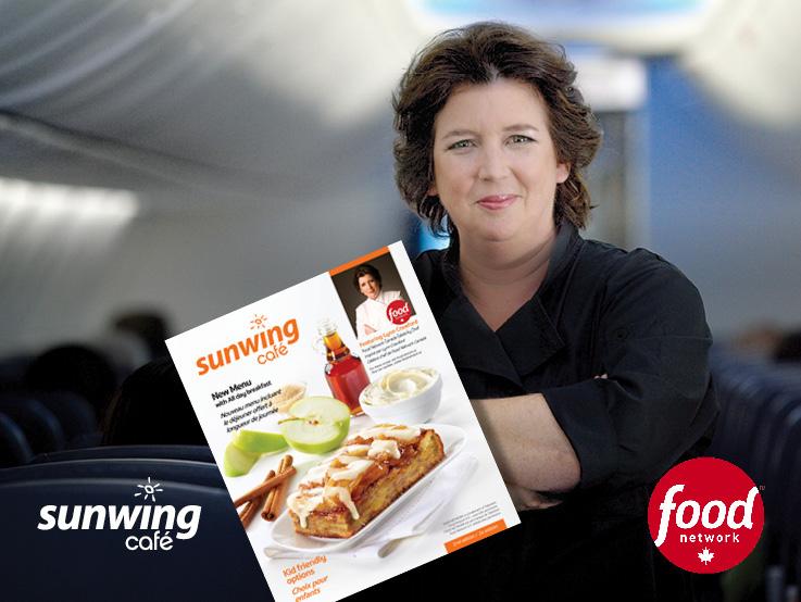 Sunwing Cafe & Food Network Canada Celebrity Chef Lynn Crawford