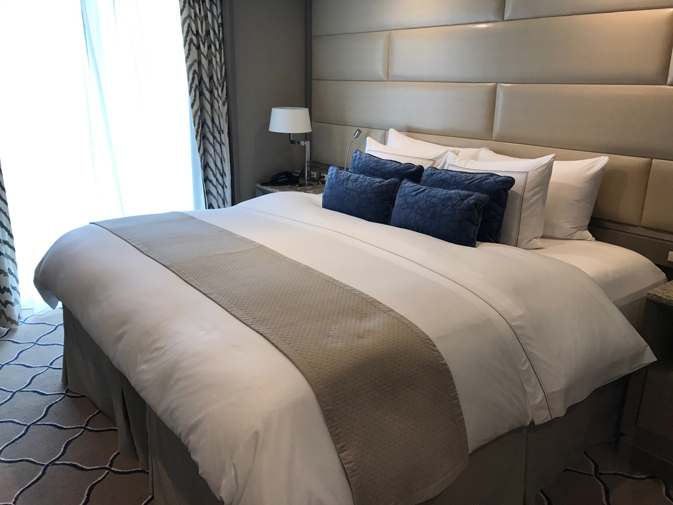 Silversea is known for its all-suite vessels; even its entry-level suites have a walk-in closet, verandah and butler service.