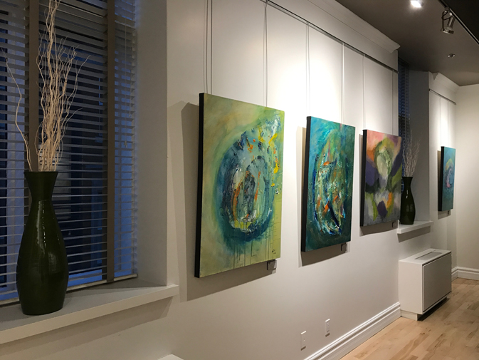 Another unique feature is its permanent art gallery, created in conjunction with the Vincent et moi program — an initiative dedicated to supporting artists with mental health challenges.