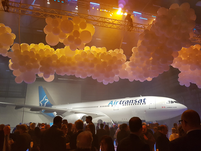 Transat A.T. Inc.'s 30th anniversary